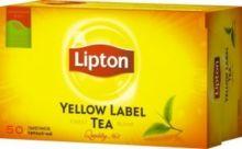 Чай Липтон пакетики 50 пакетиков