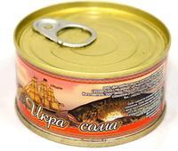 Икра сома  стерилизованная 125 гр Угощение от моря